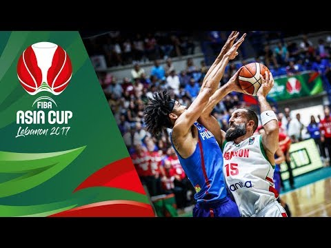 Download Youtube: Highlights from Lebanon v Philippines in Slow Motion - Quarter-Final - FIBA Asia Cup 2017