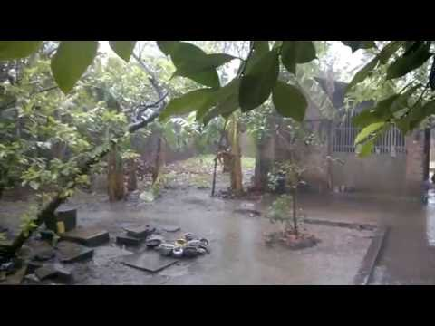 A beautiful rainy day in Satyawada