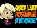 Should I Learn Programming or Networking?