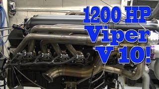 1200 HP V10 Viper! Beast!  Dodge Charger.  Nelson Racing Engines.  NRE TV Episode 217.