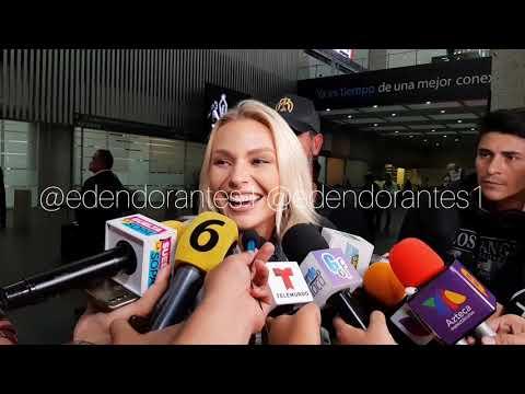 IRINA BAEVA Y GABRIEL SOTO , LA MUJER ES MUY CASTIGADA EN LAS SOCIEDADES, ASÍ SU LLEGADA MEXICO