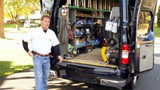 A comfortable cargo van? David says his NV Cargo sure is.