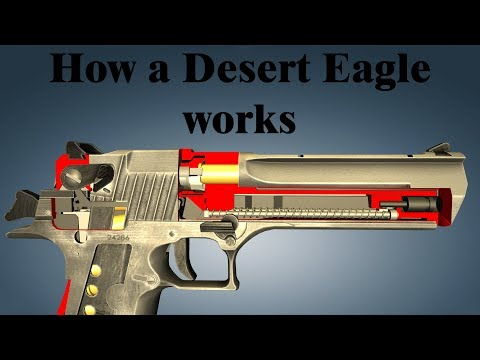 How a Desert Eagle works