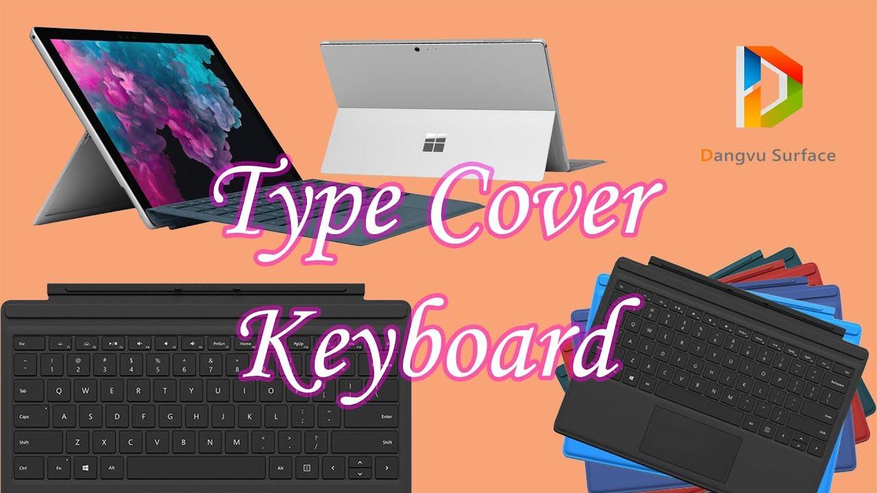 Đánh Giá Chi Tiết Bàn Phím New Type Cover Microsoft | Đăng Vũ Surface