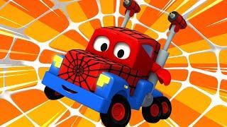 Carl der Super Truck - Fifa Spezial Folge - Der Spinnen Lastwagen - Cartoons für Kinder 🚓 🚒