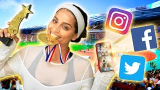 If Social Media Were An Olympic Sport