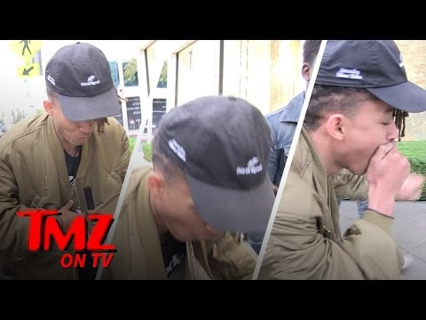 Jaden Smith Gets Choked Up | TMZ TV