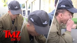Repeat youtube video Jaden Smith Gets Choked Up | TMZ TV