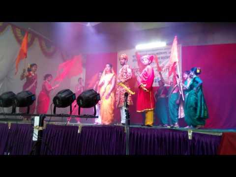 Cultural Dance On Rajmata Jijau Song
