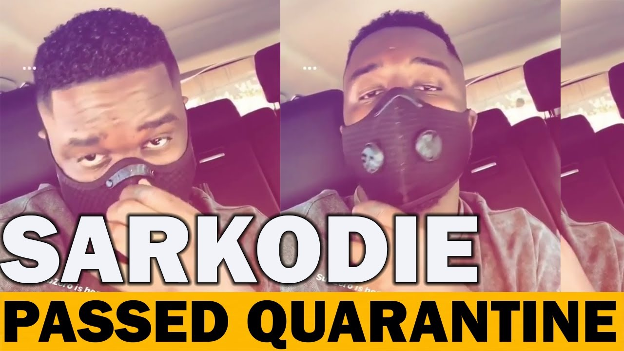 Sarkodie & Family Finally Out Of Mandatory 14 Days Quarantine As He Celebrates With Sub Zero Song!