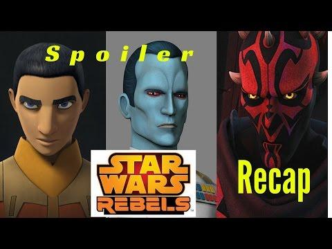 Rebels Season 3 Episode 1-3 Spoiler Review (Blue Harvest Star Wars Talk)