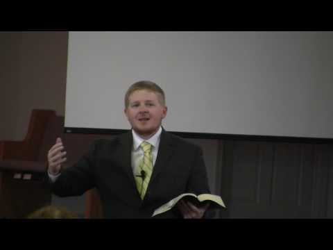 March 5, 2017 AM service   Tempted and Tried by Chris Lyden