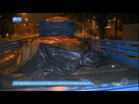 Bandido é preso após roubar caminhão com carga de R$ 170 mil na marginal Pinheiros