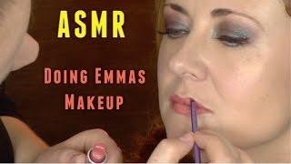 ASMR - makeup tutorial with Emma WhispersRed :3 || AylaASMR