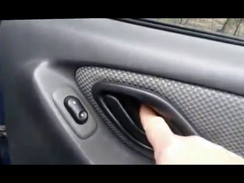 2007 Ford Escape Door Ajar Alarm Going Off