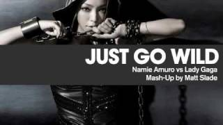 Just Go Wild - Namie Amuro vs Lady Gaga [Mash Up by Matt Slade]