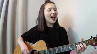 Every time you leave - I Prevail (feat. Delaney Jane) acoustic cover by cloebeaudoin