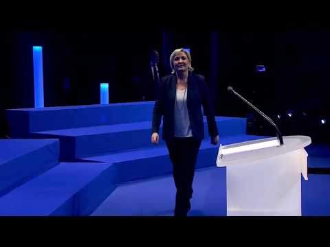 16ème Congrès du FN - Présentation de la nouvelle direction nationale du Front National