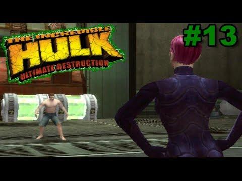 Hulk: Ultimate Destruction PS2 Gameplay #13 [Bruce Banner Is SAVAGE!!]
