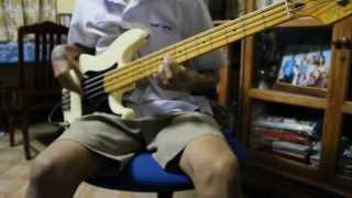 โทน - Body slam [Bass Cover]