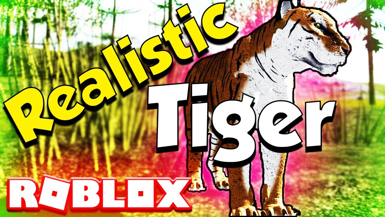 Roblox Super Realistic Tiger With Game Dev The Immortal Wild