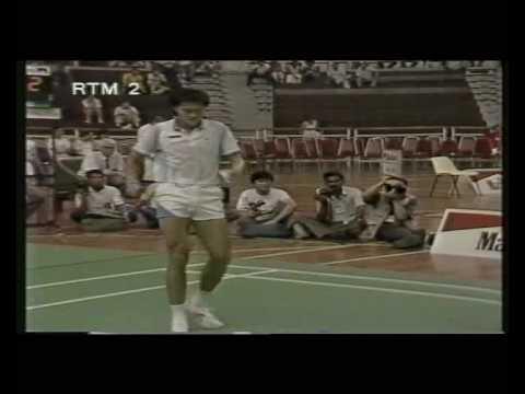 Separuh Akhir Piala Thomas 1988: Foo Kok Keong vs ...