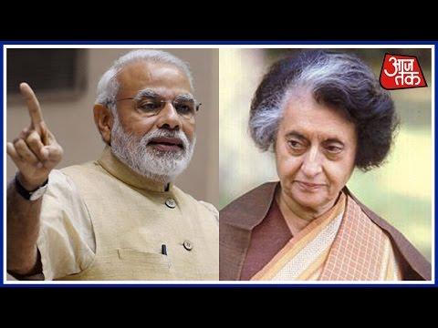 Khabardaar:  Indira Gandhi Ignored Advice To Demonetise, Sold Out India Says PM Narendra Modi