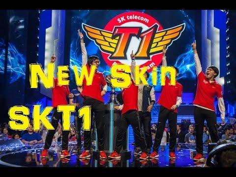 Skt T1 World Championship 2015 Skin Recall Ryze, Azir, Elise ...