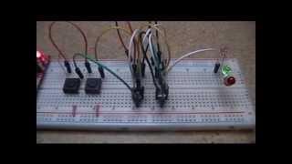 Mosfet Transistor Logic #2 - Nor Gate