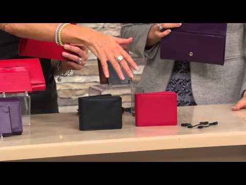HALO Men's Wallet With 3000 MAh Charger And RFID Technology With Jill Bauer