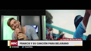 """""""Celeste"""", la canción de un hincha pirata al Club Belgrano"""