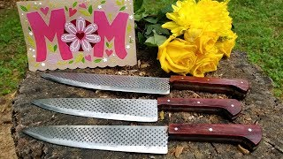 Making knives for Mother
