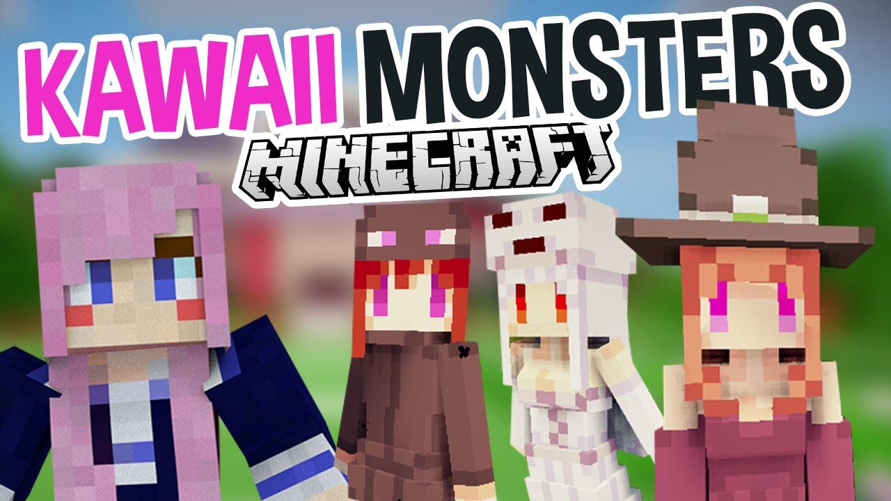 Kawaii Monsters Super Cute Minecraft Mod YouTube