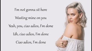 Anne-Marie - CIAO ADIOS (Lyrics) Video