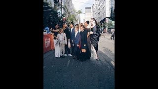 Angelina Jolie, JP kids and Loung Ung at TIFF 10-11 sep2017