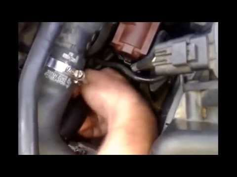 how to remove a starter volvo v50 s40