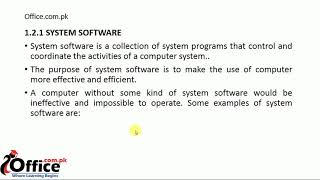 07  Types of Computer Software, System Software