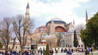 360 VR Tour | Istanbul | Hagia Sophia | Ayasofya | Inside & outside | Air view | No comments tour