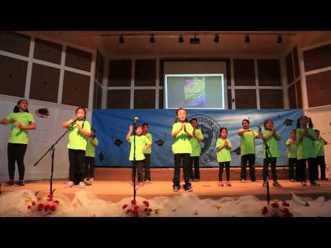 2015 Fullerton Christian Preschool FCP Afterschool Graduate Yingying Dancing