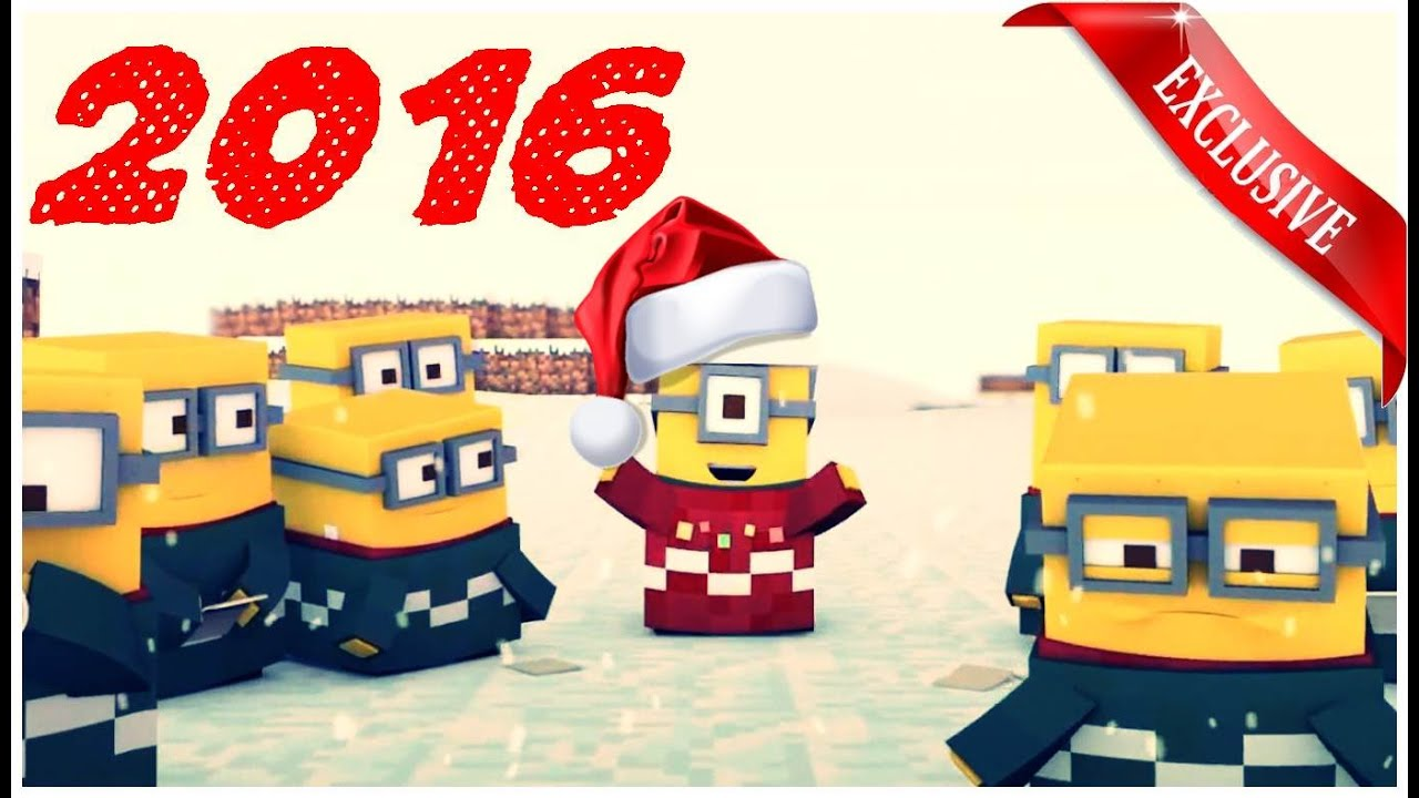 Minecraft Minions For Christmas 2016 - Funny Christmas Video 2016 ...