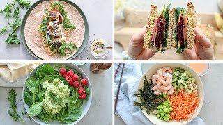 EASY 5 Minute Lunch Recipes | Healthy Lunch Ideas