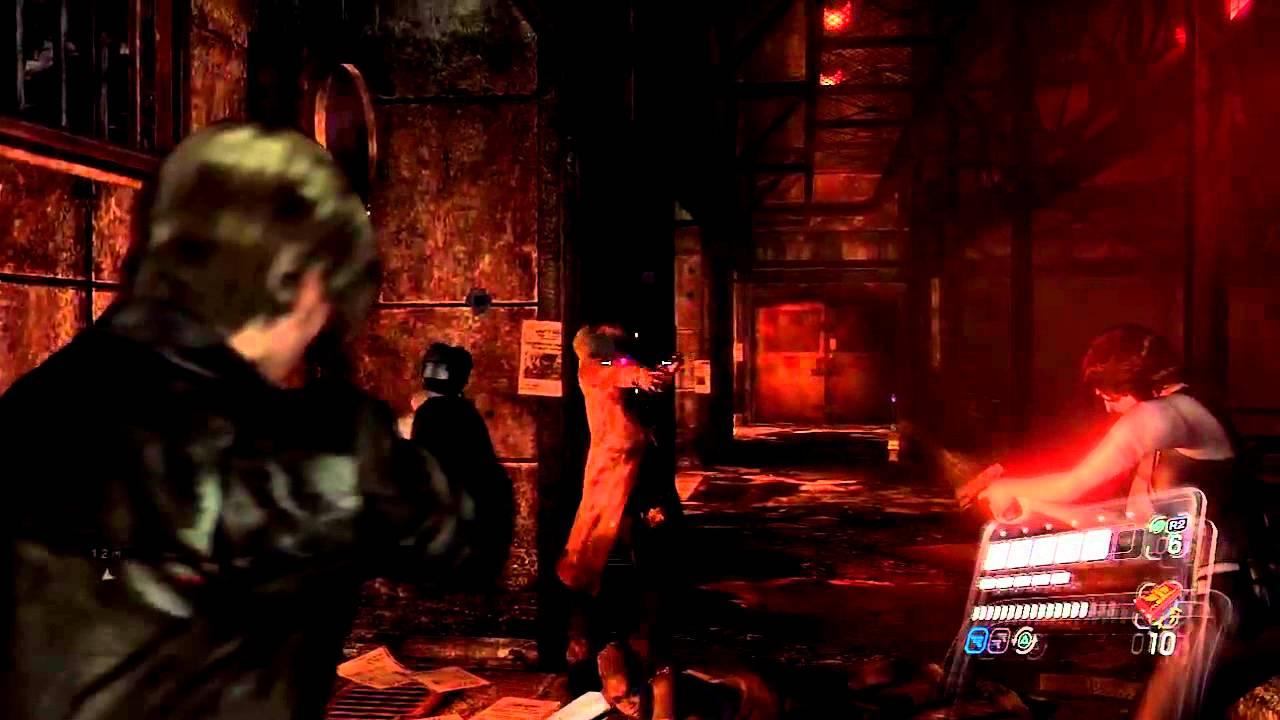 Resident evil 6 (Walkthrough Part 1) bomb - YouTube