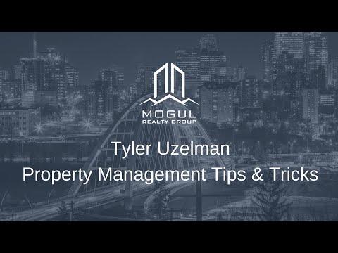 Mogul Mastermind May 2018 - Tyler Uzelman - Property Management Tips & Tricks -