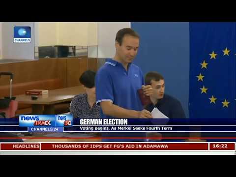 Voting Begins In Germany As Merkel Seeks Fourth Term