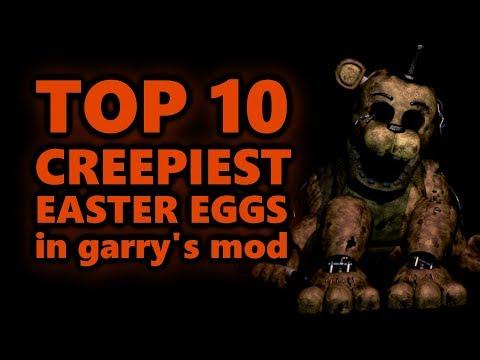 Top 10 Creepiest Easter Eggs In Garrys Mod