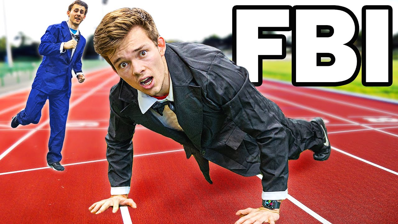 We Try The FBI Fitness Test without practice