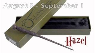 Wizarding World of Harry Potter Original / Birthday wands song by w...