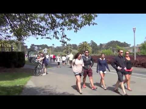 San Francisco Golden Gate Park Walking Tour Part 1 1080p HD