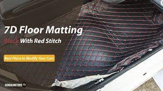 Honda Civic Reborn 7D Floor Matting | 7D Floor Matting | Best Floor Matting in Pakistan