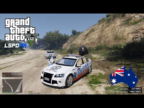 GTA 5 NSW Police Mod - NEW VE HSV Commodore Highway Patrol Car! (Play GTA V as a cop mod for PC)